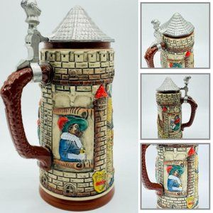 The Walt Rothenburg ODT Beer Stein Knight Pottery